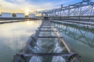 Filtration im Wasserwerk