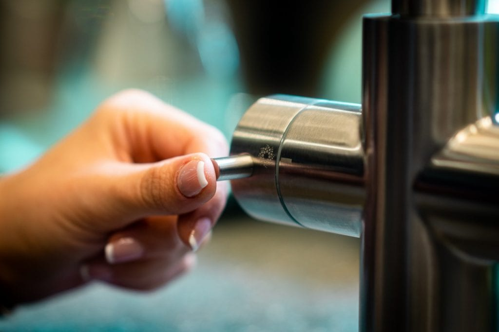 Sprudelwasser selber machen Grifffunktion II